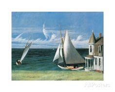 Das Ufer des Lee Kunstdrucke von Edward Hopper bei AllPosters.de