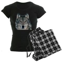 The alfa Wolf Pajamas on CafePress.com