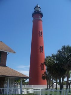 Ponce de Leon Inlet Light, Florida  soooooooo many stairs but so cool at the top :D  loved it