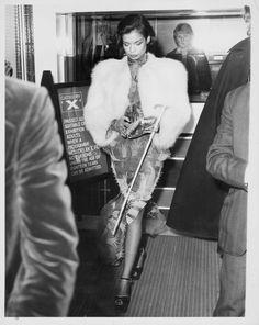Bianca Jagger at a 1973 Metropolitan Museum event. Bianca Jagger, Mick Jagger, Charlotte Rampling, Studio 54, Twiggy, Alexa Chung, Audrey Hepburn, Lancaster, 70s Fashion