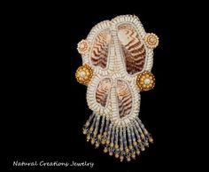 Conch Shell Lapel Pin