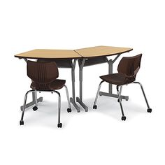 Arc-8 Flex Desk Chosen for collaborative learning classrooms, the spacious, stable Arc-8 Flex Desk offers exceptional ingress/egress to the student – crucial in an active classroom. This design saves time whenever she/he stands up or sits down. Optional Steel Book Box (Model 17016), Optional 3″ Dual-Wheel caster pack (Model 17576) and optional Cascade™ Tote Trays (Model 30925 & 30926) also available as add-ons.