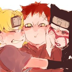 Brothers of the sand || Gaara || Temari || Kankuro || #Naruto