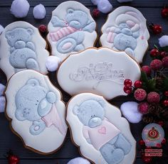 Сладкие мишуты Тедди в новом исполнении #имбирныепряники #имбирноепеченье #ручнаяработа #расписныепряники #icing #royalicing #icingcookies #teddybear #teddybearcookies #teddycookies #bear #teddy #cookies #пряникитедди #медведь #мишкитедди #тедди #сладкийподарок #пряникиднепропетровск #днипро #днепр #пряникидлядевочки #pechenko_dnepr #пряникиназаказ