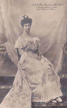 Princess Mathilde of Saxe-Coburg (Bavaria)