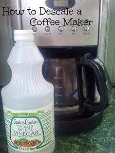 Smith and Blessings: Messy Monday: How to Descale a Coffee Maker - Coffee Maker - Ideas of Coffee Maker - Smith and Blessings: Messy Monday: How to Descale a Coffee Maker Starbucks Coffee, Coffee Barista, Krups Coffee, Coffee Meme, Coffee Creamer, Coffee Latte, Espresso Coffee, Coffee Shops, Coffee Quotes