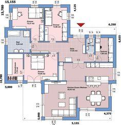 Erdgeschoss On Top 146, Fertighaus