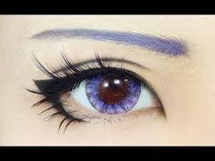 Eye Makeup Tutorial : Anime Eye Ma… – Augen Make-up & Nageldesign Anime Eye Makeup, Makeup Fx, Cute Makeup, Makeup Eyes, Cartoon Makeup, Cartoon Cartoon, Doll Eye Makeup, Candy Makeup, Zombie Makeup