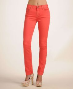 Free People 'Millenium' Colored High Rise Jeans