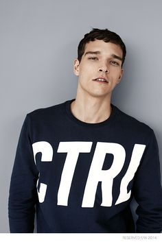 Alexandre Cunha Dons Casual Styles for Reserved Fall 2014 image Reserved Fall Winter 2014 Alexandre Cunha 004