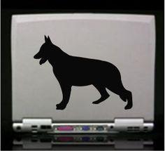 German Shepherd Silhouette Vinyl Die Cut Decal Sticker - Texas Die ...