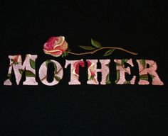 Mother's Day Sweatshirt with Rose Embroidery by MaryAnnsWorkshop, $40.00