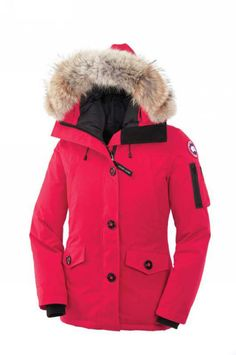 In a different color Canada Goose Outlet Montebello Parka Women Pink With Top Quality - $279