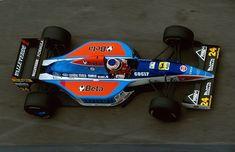 Michele Alboreto (Minardi-Ford V8, M193B). Pre-Season Testing, Imola Circuit, 7th-11th March 1994. #F1