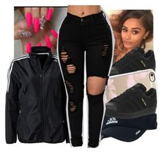 """""""☁Adidas contest☁"""" by geazybxtch24 ❤ liked on Polyvore featuring adidas and Casetify"""