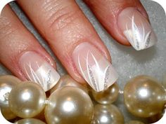 Elegant French Tip Nails | ... Beelieve' in the ability of the nail experts at Bee Bee Nail Salon