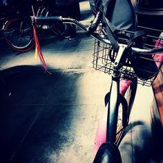 """Good ol' faithful Daphne the bike in her fancy new tassels #CicLAviaPasadena #cheers #memories #holdthemoments #visualsoflife #pasadena #lifeisbeautiful #letsgosomewhere #vsco #VSCOcam #adventure #explore #daphnethebike"" Photo taken by @katiehorning on Instagram, pinned via the InstaPin iOS App! http://www.instapinapp.com (05/31/2015)"