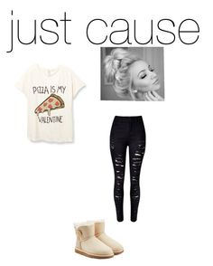 """""""Untitled #294"""" by nya1234 ❤ liked on Polyvore featuring UGG Australia, women's clothing, women, female, woman, misses and juniors"""