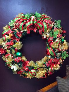 Large commercial wreath