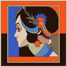 Raul Urias - Closer&Closer Artists Artist Project, Pattern Illustration, Closer, Grafik Design, New Artists, Mexico City, New Work, Digital Art, Character Design