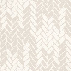 Dogtooth (86/9031) - Cole & Son Wallpapers - A hand-drawn version by of the classic dogtooth  weave pattern – makes a stunning diamond effect. Shown in the off-white and stone grey colours. Please ask for sample for true colour match.