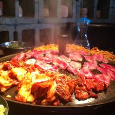 Korean BBQ at Honey Pig