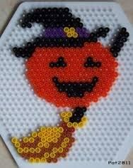 Image result for HALLOWEEN WITH HAMA BEADS