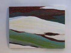Original peinture à l'huile abstraite 9 x 12 par TurningTrueStudios