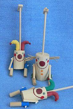 Břichopas unos juguetes: Puppets Bara Lean / Slender Marionetas de Bara