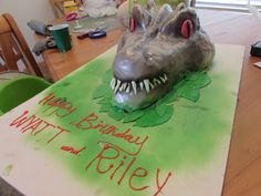 indominus rex Jurassic world cake