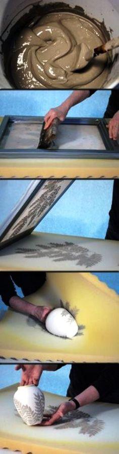 Рисуем на керамике (DIY) / Рисунки и надписи / ВТОРАЯ УЛИЦА