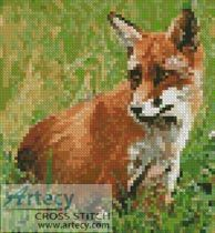 Mini Red Fox Cross Stitch Pattern http://www.artecyshop.com/index.php?main_page=product_info&cPath=11_12&products_id=65