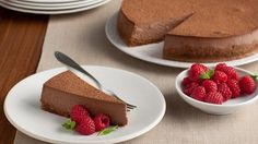 Look at this recipe - Chocolate Truffle Cheesecake - from Food Network Kitchens and other tasty dishes on Food Network.