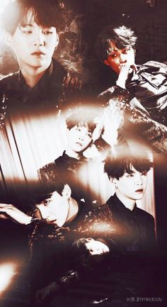 Suga ❤ BTS Profile Photos For WINGS  ! ❤ #BTS #방탄소년단