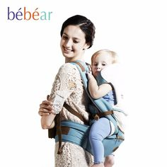 c6a54c1c673 New hipseat for newborn and 6 in 1 carry style loading bear Ergonomic baby  carriers kid sling