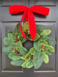 Add a Bow Wreath Decoration Bow Added to Wreath by elegantholidays, $6.00