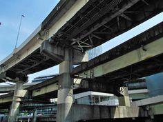 首都高C1線:一ツ橋入口 by 荒井勇
