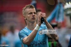 Oleksandr Zinchenko of Manchester City celebrate during the FA Cup Final match between Manchester City and Watford at Wembley Stadium on May 2019 in London, England. Get premium, high resolution news photos at Getty Images Zen, Wembley Stadium, Watford, Fa Cup, Manchester City, Football, Celebrities, Sports, Outdoor