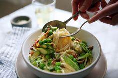 Springtime Spaghetti Carbonara Recipe - NYT Cooking