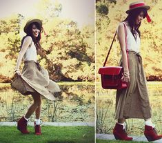 BY THE LAKE  (by KANI (Connie) Cao) http://lookbook.nu/look/1931570-BY-THE-LAKE