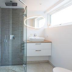 3,25 m2 luksus bad i kælderen