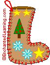 Make a Paper Christmas Stocking - Enchanted Learning Software
