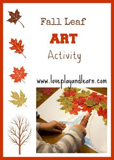 Fall Leaf Art Project for Kids
