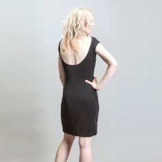 Open back or backless LBD Mini Cocktail Dress by BritishSteele, $70.00