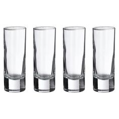 4ct Tall Shot Glasses : Target