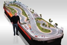 If Its Hip, Its Here: Hot Wheels On Steroids - Slot Mods Luxury Custom and Replica Slot Car Raceways. Slot Car Racing, Slot Car Tracks, Race Cars, Ho Slot Cars, Race Tracks, Road Racing, Auto Racing, Hot Wheels, Matchbox Autos