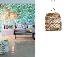 Tendencia en decoración: Lámparas de bambú y mimbre, las mejores del mercado y dónde comprarlas