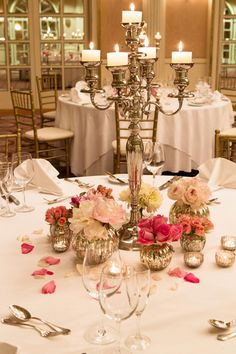 88 best candelabra images on pinterest centerpieces weddings and candelabra centerpiece totes bril aloadofball Images