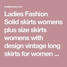 Online Shop Ladies Fashion Solid skirts womens plus size skirts womens with design vintage long skirts for women Cotton And Linen Mar Summer Skirts, Mini Skirts, Ladies Fashion, Womens Fashion, Long Skirts For Women, Plus Size Skirts, Skirt Set, Lady, Cotton