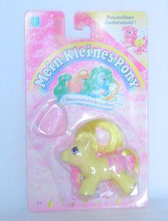 N01 MOC NRFP MIP My Little Pony ~*ULTRA RARE UK German Baby Bouncy!*~ #Hasbro